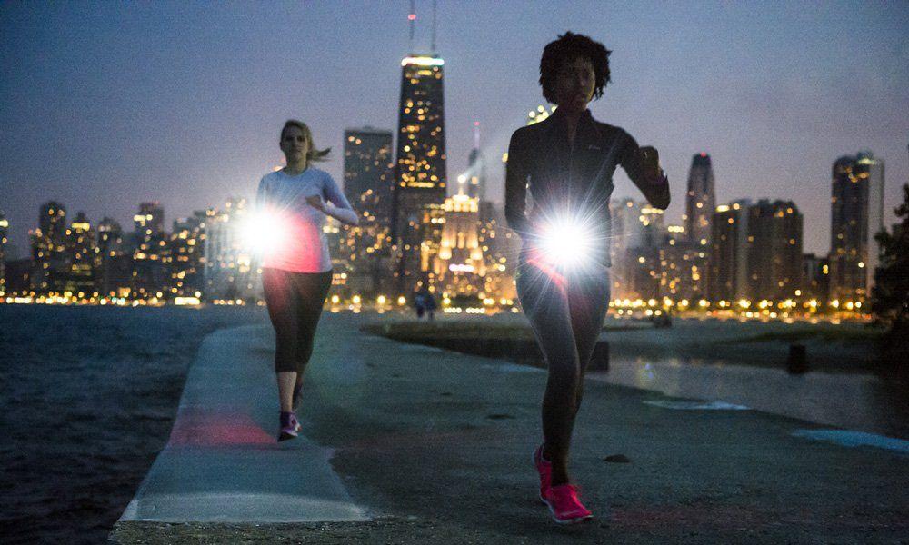 Hardlopen in het donker: maar wel veilig!